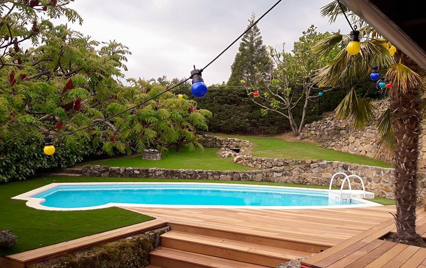 Décoration abords de piscine - Annonay Espaces Verts